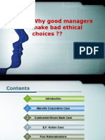 41341966 Why Good Managers Make Bad Ethical Choices Case Analysis