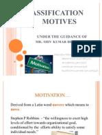 Classification of Motives