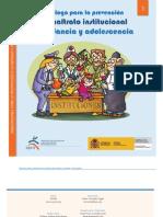 Decálogo para la prevención del maltrato institucional a la infancia y adolescencia