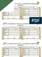 4eme - consignes manuel