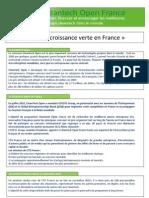CTO - Soutenir La Croissance Verte - Avril 2011