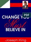 Change You Must Believe In
