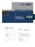 User Manual Lml Speedy