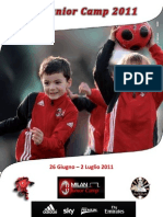Brochure Milan Junior Camp Pescara