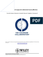 Damage Control Surgery in Abdominal Trauma