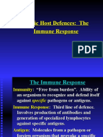 Specific Defences - Humoral and Cell Immunity