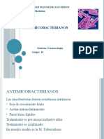 ANTIMICOBACTERIANOS ,,