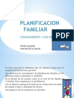 Planificacion Familiar Analisis de La Salud