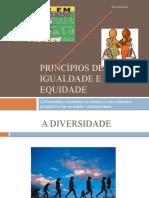 Princípios de Igualdade e de equidade