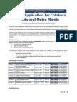 Application Form. 4th Series Peace Through Technology Training Program