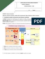Ficha de trabalho - Sistema circulatório