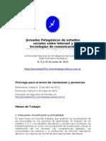 Jornadas Patagonia Itc - Segunda Circular