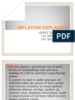 What is Inflation Definition and Meaning