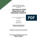 Inspection of Steel Penstocks & Pressure Conduits Vol2-8