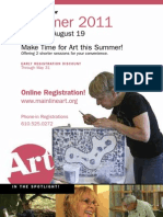 Summer 2011 Course Brochure