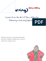Learning (to the power of) Storytelling
