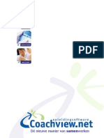 Brochure Coachview.net Online Cursusadministratie Software