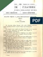 Glasnik Zemaljskog muzeja u BiH [godina 20, knjiga 3; juli-septembar 1908.]