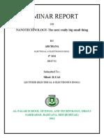 8th Sem Seminar Report