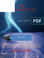 EMP (Electro Magnetic Pulse) . project of Electrical Engg.