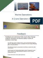 Crane Operations