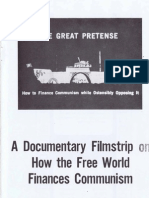 The Great Pretense-a filmstrip by Gary Allen