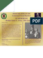 Brother James S Avery 28th Grand Basileus