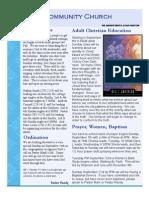 FCC Newsletter Sep 08