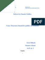 Structura Finantelor Publicee Locale