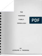 The Therrien Family Genealogy 1983