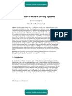 FE Analysis of Firearm Locking Systems