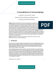 Modeling the Creep Behavior of Torsional Springs