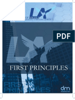 First Principles English 2009