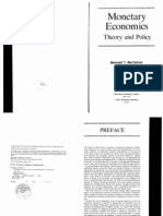 Monetary Economics Theory and Policy MCCALLUM 1989)