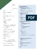 Funzioni Ricorsive e Iterative