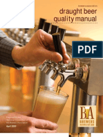 Draft Beer Quality Manual