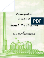 Cont Em Plat Ions on the Book of Jonah the Prophet
