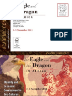 The Eagle & the Dragon in Africa postcard