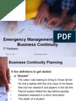 Gii Emergency Planning