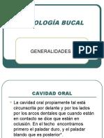 1.2 PATOLOGÍA BUCAL CAVIDAD ORAL