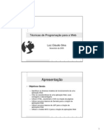 Tecnicas de Programacao Web