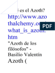 AZOTH ALQUIMIA
