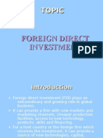 Foreign Investmnt Ppt - Copy (1)