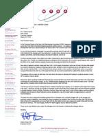 Bayer Letter