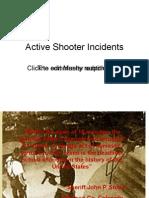 Active Shooter Presentation