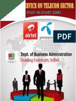 Customer Service of Telecom Sector in Bangladesh