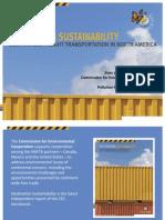 Presentation of Destination Sustainability report in Canada