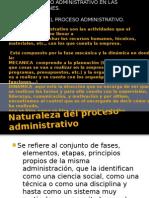 1.-El proceso administrativo