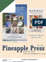 Pineapple Press Summer 2011 Catalog