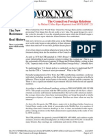 Council on Foreign Relations - Michael Collins Piper